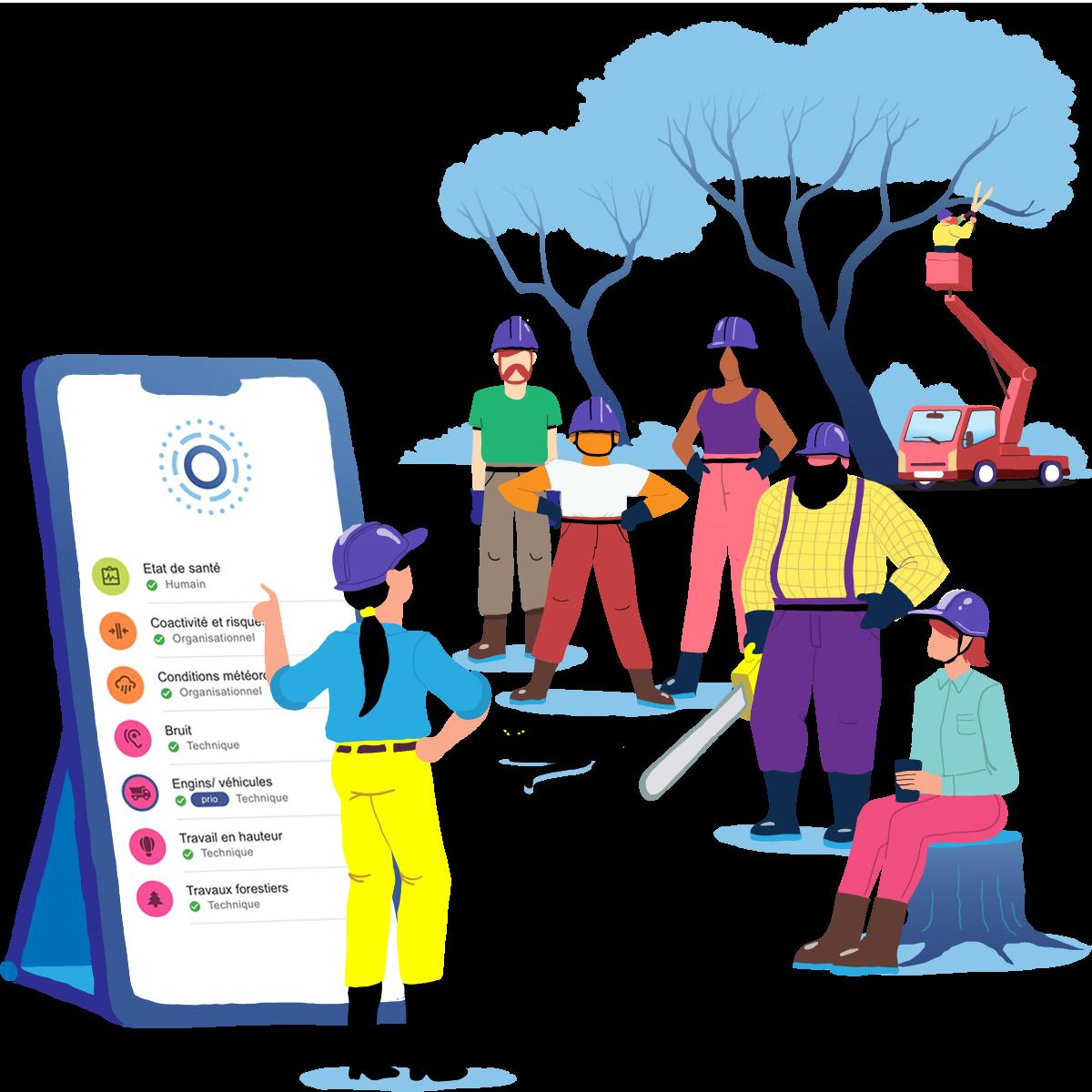 App de prévention des risques au travail